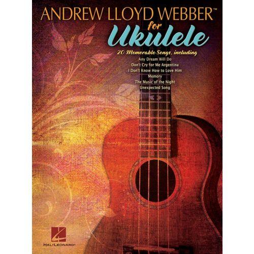 HAL LEONARD ANDREW LLOYD WEBBER - UKULELE