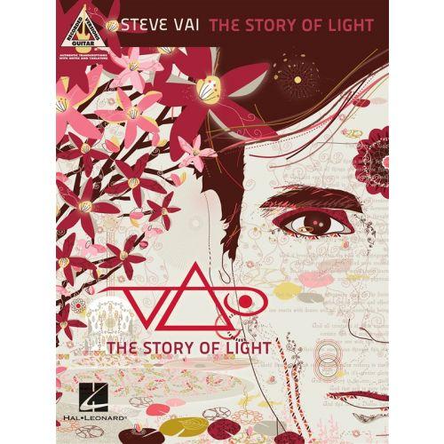 HAL LEONARD VAI STEVE THE STORY OF LIGHT GUITAR RECORDED VERSION - GUITAR