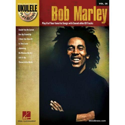 HAL LEONARD UKULELE PLAY-ALONG VOL.26 - BOB MARLEY