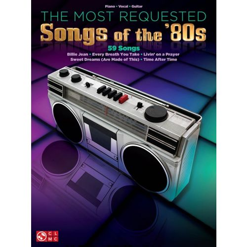 HAL LEONARD THE MOST REQUESTED SONG OF THE 80S - PVG