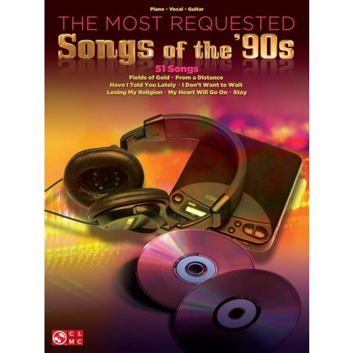 HAL LEONARD MOST REQUESTED SONGS OF THE 90S PIANO VOCAL GUITAR SONGBOOK - PVG