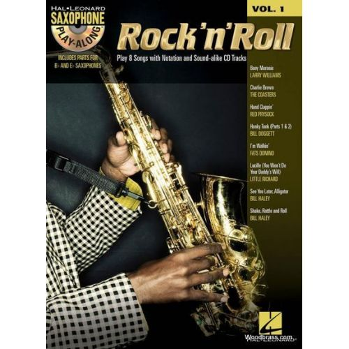 HAL LEONARD HAL LEONARD SAXOPHONE PLAY ALONG VOL.1 - ROCK 'N' ROLL + CD