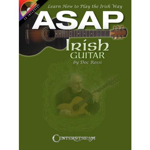 HAL LEONARD ASAP IRISH GUITAR LEARN HOW TO PLAY THE IRISH WAY + CD - GUITAR TAB