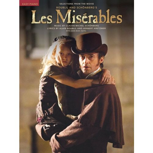 HAL LEONARD BOUBLIL AND SCHONBERG LES MISERABLES EASY PIANO SELECTIONS FROM MOVIE - PIANO SOLO
