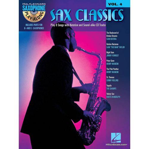 HAL LEONARD HAL LEONARD SAXOPHONE PLAY ALONG VOL.4 - SAX CLASSICS + CD