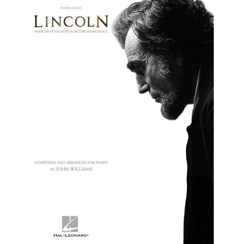 HAL LEONARD JOHN WILLIAMS - LINCOLN - PIANO SOLO