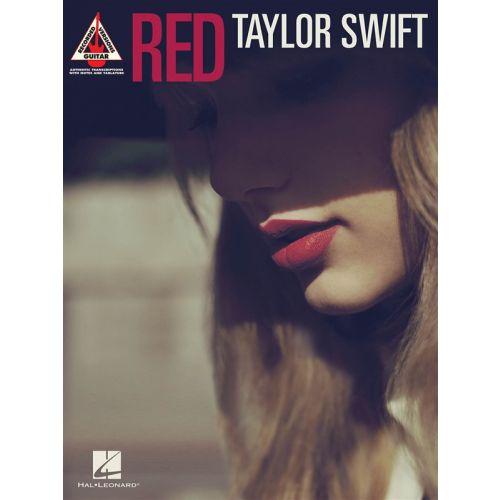 HAL LEONARD SWIFT TAYLOR - RED GUITAR RECORDED VERSION - GUITAR