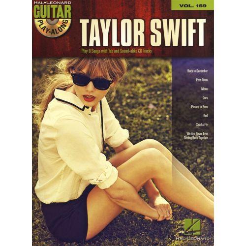 HAL LEONARD GUITAR PLAY ALONG VOLUME 169 - SWIFT TAYLOR + CD - GUITAR TAB