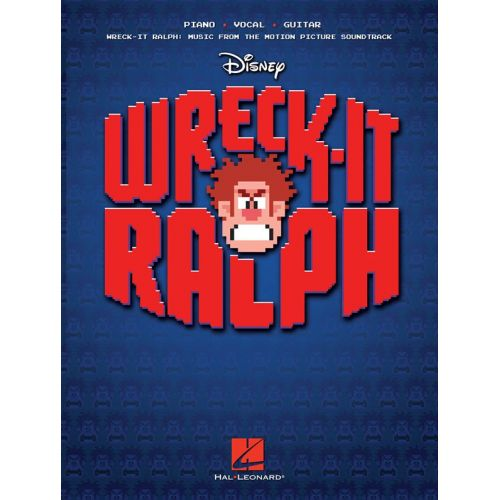HAL LEONARD JACKMAN HENRY WRECK-IT RALPH MUSIC MOTION PICTURE SOUNDTRACK - PVG