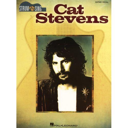 HAL LEONARD STEVENS CAT STRUM AND SING EASY GUITAR - LYRICS AND CHORDS