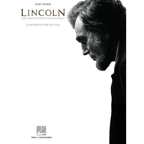 HAL LEONARD JOHN WILLIAMS - JOHN WILLIAMS - LINCOLN - PIANO SOLO