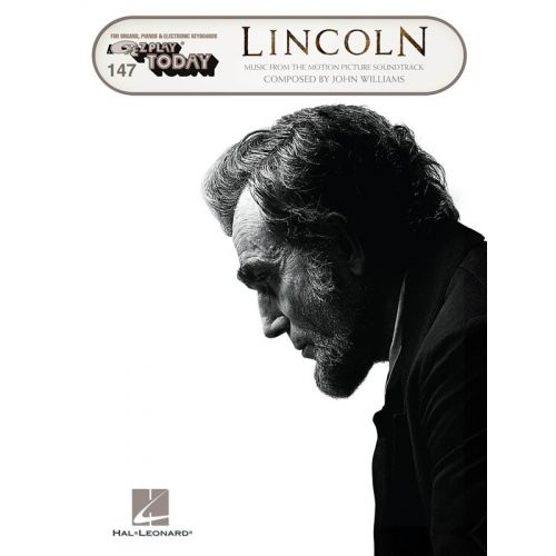 HAL LEONARD JOHN WILLIAMS - E-Z PLAY TODAY VOLUME 147 - LINCOLN - PIANO SOLO
