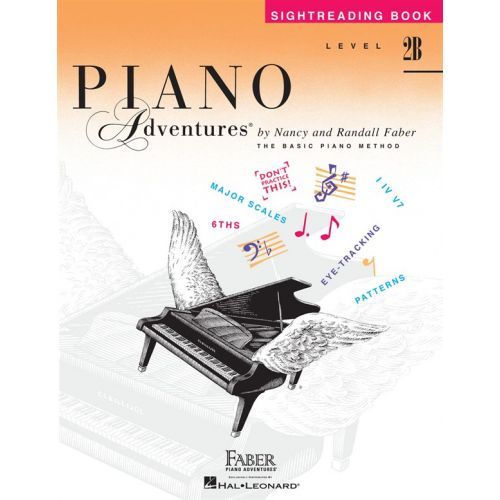 HAL LEONARD PIANO ADVENTURES - SIGHTREADING- LEVEL 2B - PIANO SOLO