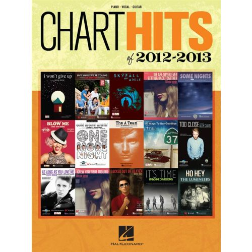 HAL LEONARD CHART HITS OF 2012-2013 - PVG