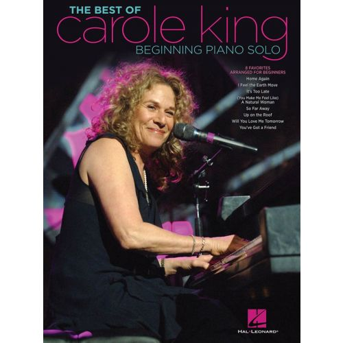 HAL LEONARD KING CAROLE THE BEST OF BEGINNING PIANO SOLO SONGBOOK - PIANO SOLO