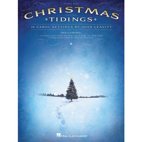 HAL LEONARD CHRISTMAS TIDINGS 10 CAROL SETTINGS - PIANO SOLO