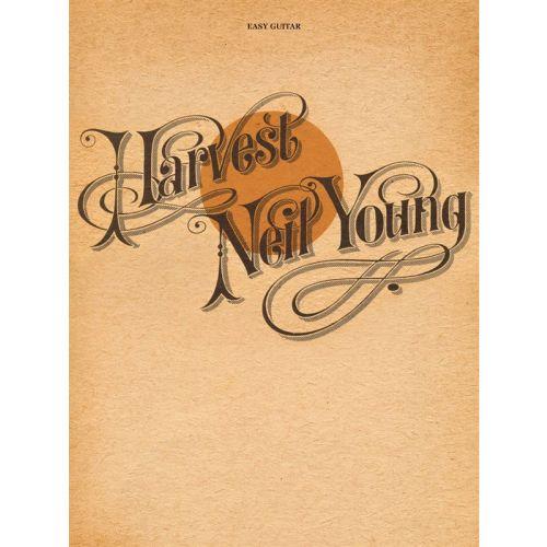 HAL LEONARD YOUNG NEIL - HARVEST EASY GUITAR - GUITAR