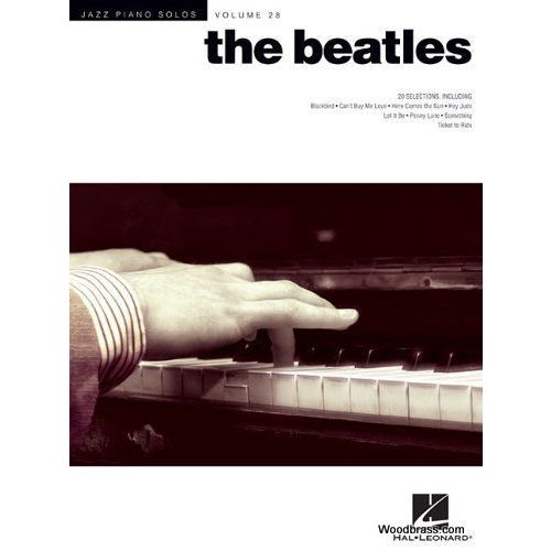 HAL LEONARD JAZZ PIANO SOLOS VOL.28 - THE BEATLES