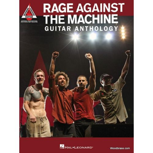 HAL LEONARD RAGE AGAINST THE MACHINE - GUITAR ANTHOLOGY