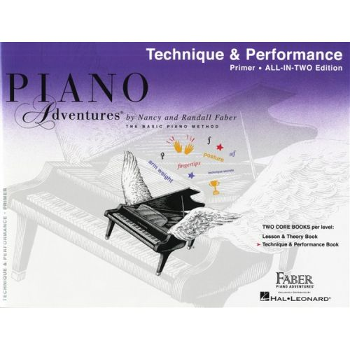 HAL LEONARD PIANO ADVENTURES ALL IN TWO PRIMER TECHNIQUE AND PERFORMANCE - PIANO SOLO
