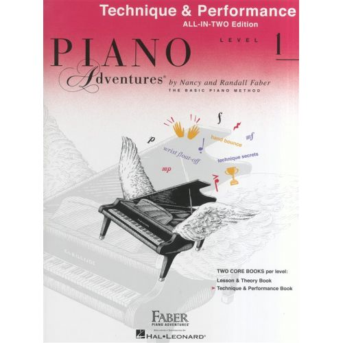 HAL LEONARD PIANO ADVENTURES ALL IN TWO LEVEL 1 TECHNIQUE AND PERFORMANCE ANGL - PIANO SOLO