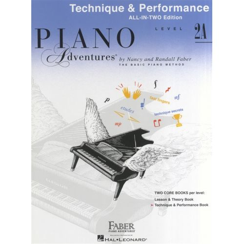 HAL LEONARD PIANO ADVENTURES ALL IN TWO LEVEL 2A TECHNIQUE AND PERFORMANCE ANG - PIANO SOLO