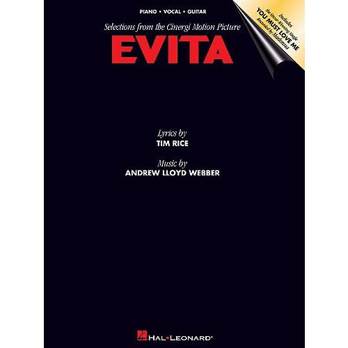 HAL LEONARD EVITA SELECTIONS FROM MOTION PICTURE - PVG
