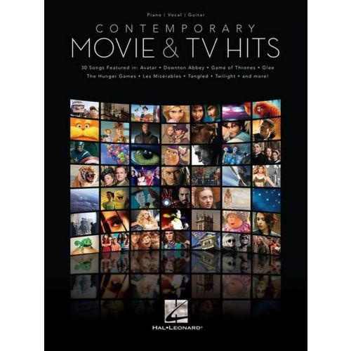 HAL LEONARD CONTEMPORARY MOVIE AND TV HITS - PVG
