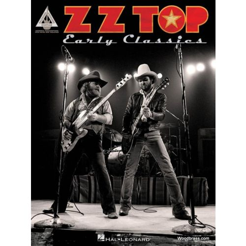 HAL LEONARD ZZ TOP - EARLY CLASSICS - GUITAR TAB
