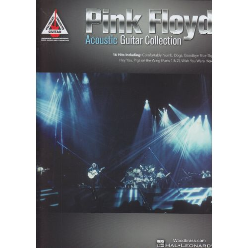 HAL LEONARD PINK FLOYD - ACOUSTIC GUITAR COLLECTION - GUITAR RECORDED VERSIONS - TAB