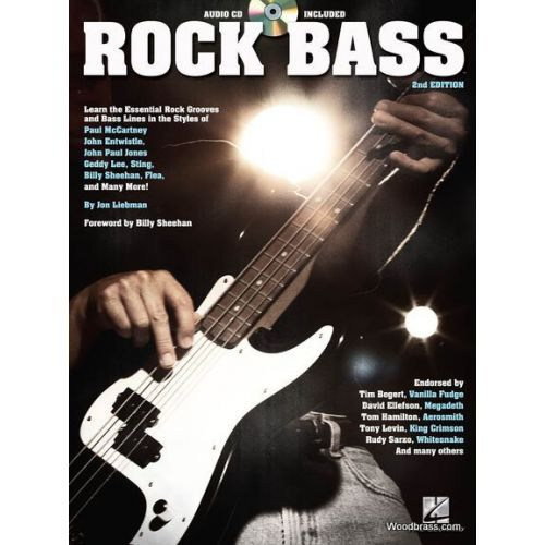 HAL LEONARD ROCK BASS - 2nd EDITION + CD