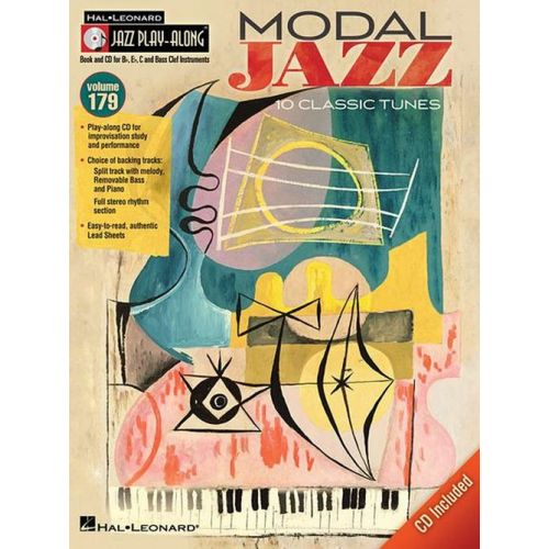 HAL LEONARD JAZZ PLAY ALONG VOL.179 - MODAL JAZZ + CD