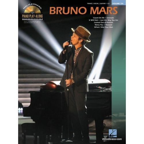 HAL LEONARD PIANO PLAY ALONG VOL.126 - BRUNO MARS
