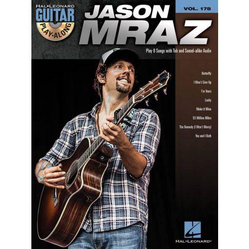 HAL LEONARD MRAZ JASON - GUITAR PLAY ALONG VOL.178