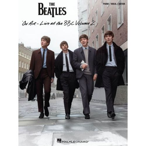 HAL LEONARD THE BEATLES - ON AIR: LIVE AT THE BBC VOL.2 - PVG