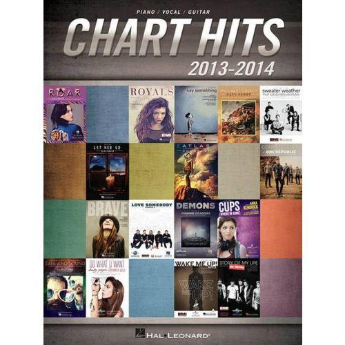 HAL LEONARD CHART HITS 2013-2014 - PVG