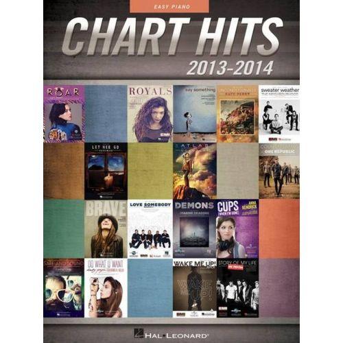 HAL LEONARD CHART HITS 2013-2014 - EASY PVG