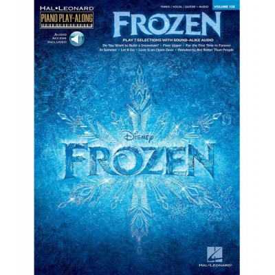 HAL LEONARD FROZEN - HAL LEONARD PIANO PLAY-ALONG VOL.128
