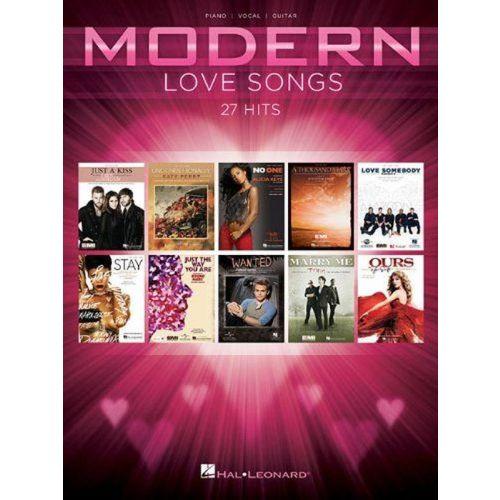 HAL LEONARD MODERN LOVE SONGS - PVG