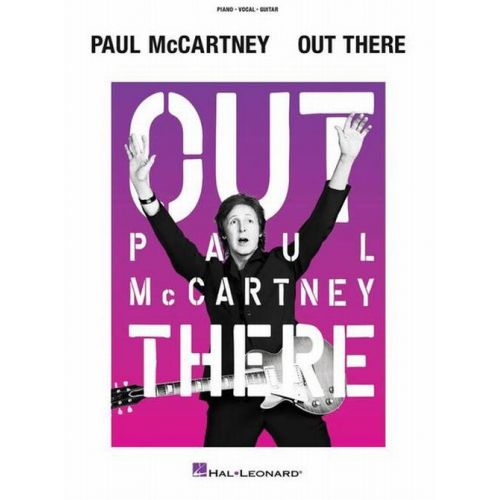 HAL LEONARD McCARTNEY PAUL - OUT THERE TOUR - PVG