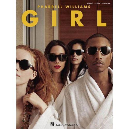 HAL LEONARD PHARRELL WILLIAMS - GIRL - PVG