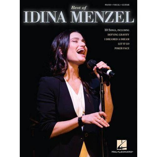 HAL LEONARD MENZEL IDINA - BEST OF - PVG