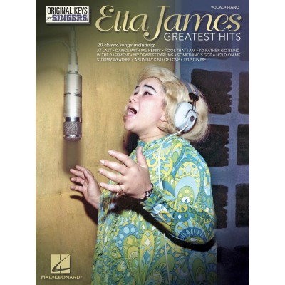 HAL LEONARD ETTA JAMES - GREATEST HITS - PVG