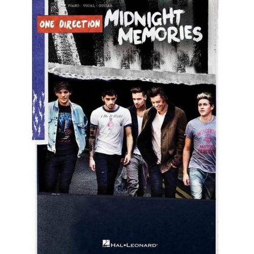 HAL LEONARD ONE DIRECTION - MIDNIGHT MEMORIES - PVG