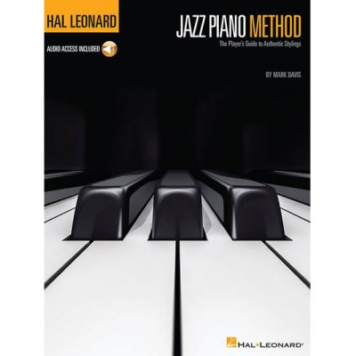 HAL LEONARD HAL LEONARD JAZZ PIANO METHOD (Book/Online Audio)
