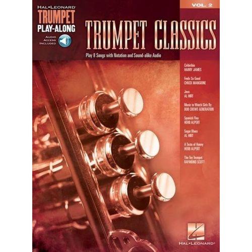 HAL LEONARD TRUMPET PLAY-ALONG VOL.2 - TRUMPET CLASSICS