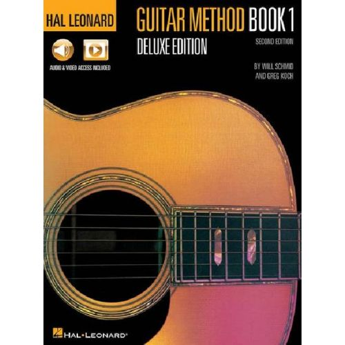 HAL LEONARD HAL LEONARD GUITAR METHOD - BOOK 1 - DELUXE EDITION