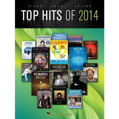 HAL LEONARD TOP HITS 2014 - PVG