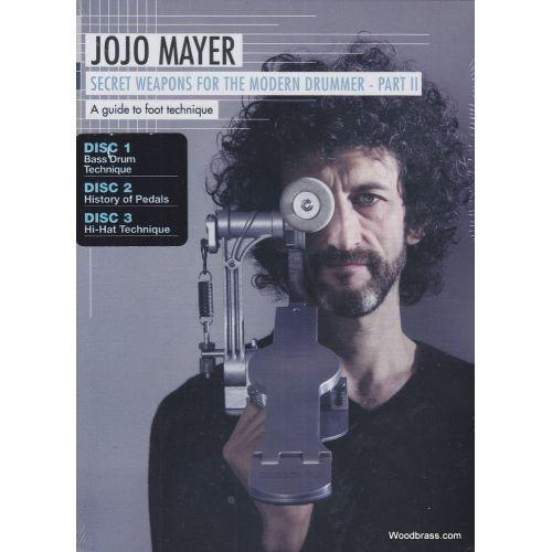 MUSIC SALES MAYER J. - SECRET WEAPONS FOR THE MODERN DRUMMER PART II