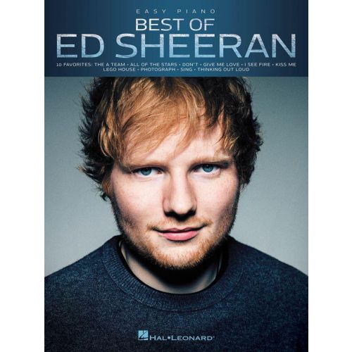 WISE PUBLICATIONS BEST OF ED SHEERAN - PIANO